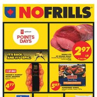 No Frills - Weekly - Points Days Flyer