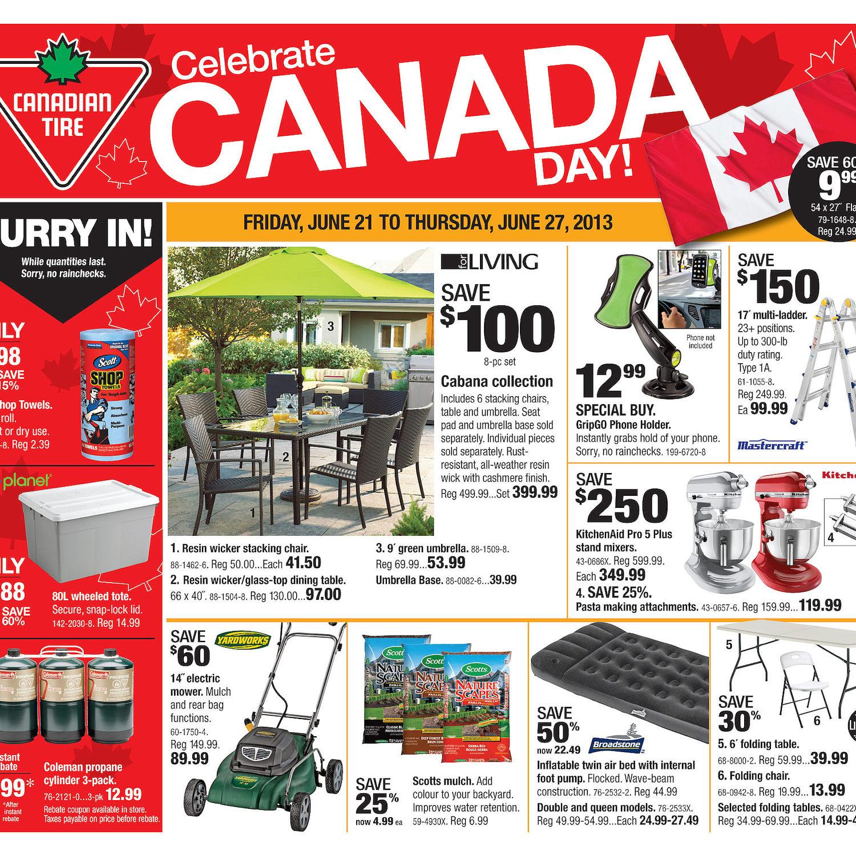 Canadian Tire Weekly Flyer - Weekly Flyer - Jun 20 – 27 ...