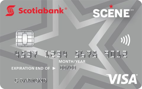 Scotiabank SCENE® Visa* card