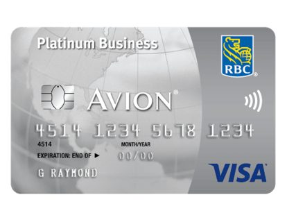 RBC® VISA® Business Platinum Avion®