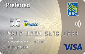 Td Visa Infinite >> Compare Best RBC - Royal Bank Credit Cards in Canada ...