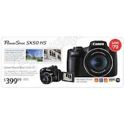 Canon Powershot Sx50 Hs Digital Camera - $399.99 ($70.00 off)