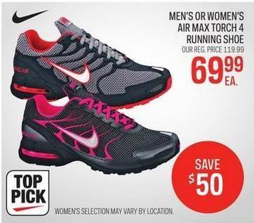 4069c0d3230def ... sport chek mens or womens nike air max torch 4 running shoe 69.99  redflagdeals