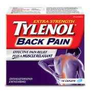 Get a Free Extra Strength Tylenol Back Pain Trial Pack!