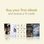 Amazon.ca: $5.00 Credit Towards Your First Kindle eBook
