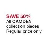 All Camden Collection Pieces - 50% off