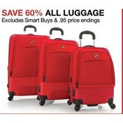 All Luggage - 60% off