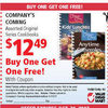 Company's Coming Original Series Cookbooks Coupon - $12.49 (BOGO Free)