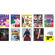 Christmas & New Release Movies  - From $8.00