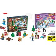 Lego City Advent Calendar, Lego Friends Advent Calendar  - $29.97