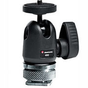 Manfrotto 492LCD Micro Ball Head with Hot Shoe Mount (Open Box) - $79.99 ($20.00 Off)