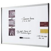 "Staples Dry Erase Boards - 24"" x 36"" Aluminum Frame - From $25.28 (Up to 36% off)"