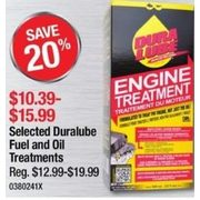 Duralube Fuel and Oil Treatments - $10.39 -$15.99 (20% off)