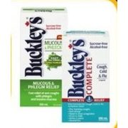 Buckley's Cough Syrup - $10.99