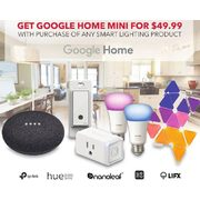 Google Home Mini with Purchase - $49.99