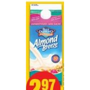 Blue Diamond Almond Breeze  Non-Dairy Beverages - $2.97