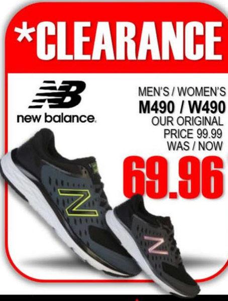 75c2d18d0 National Sports New Balance Men's/Women's M490V5/W490V5 - $69.96 New  Balance Men's/Women's M490V5/W490V5
