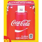 Coca-Cola or Canada Dry Soft Drinks - $2.00