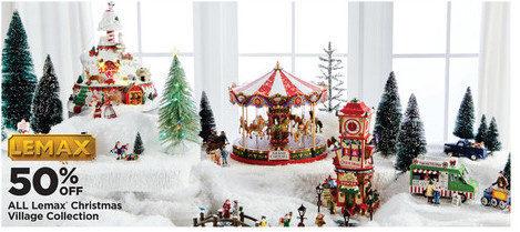 Michaels All Lemax Christmas Village Collection - 50% off All Lemax Christmas Village Collection