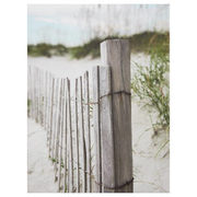 Beach Fence Printed Canvas - $11.19 ($4.80 Off)