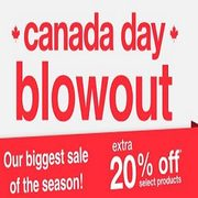 Overstock Canada Day Blowout: EXTRA 20% Off Select Products