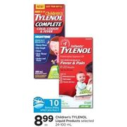 Children's Tylenol Liquid Products - $8.99