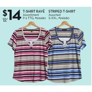 Classic Editions Striped T-Shirt - $14.00