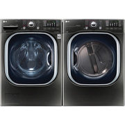 LG 5.2 Cu.Ft High Efficiency Front Load Steam Washer & 7.4 Cu. Ft. Electric Steam Dryer - $2299.98