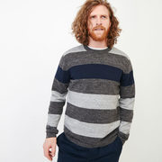 Shall Lake Stripe Crew Sweater - $39.98 ($48.02 Off)