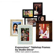 Studio Decor Expressions Tabletop Frames  - Buy 1 Get 1 Free