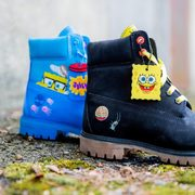 Kids' Timberland x Spongebob Boots $120