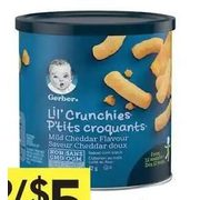 Nestle Gerber Snacks - 2/$5.00