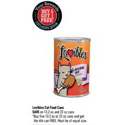 Lovibles Cat Food Cans - Buy 5 Get 1 Free