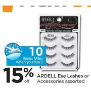 Ardell Eye Lashes Or Accessories - 15% off
