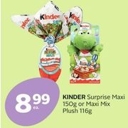 Kinder Surprise Maxi Or Maxi Mix Plush  - $8.99