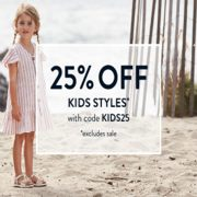 Sperry: 25% off Kids Styles