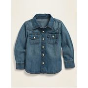 Long-sleeve Western Jean Shirt For Toddler Boys - $18.00 ($4.99 Off)