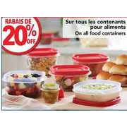All Food Containers - 20% off