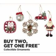 Collectible Ornaments - Buy 2, Get 1 Free