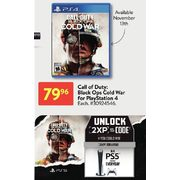 Call Of Duty: Black Ops Cold War For Playstation 4 - $79.96