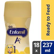 Enfamil A+ Or A+ 2 Or Gentlease A+ Ready To Feed  - $49.47 ($5.50 off)