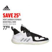 Adidas Men's Harden Stepback Basketball Shoe - $77.98 (25% off)