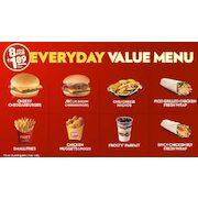 Wendys 189 Everyday Value Menu